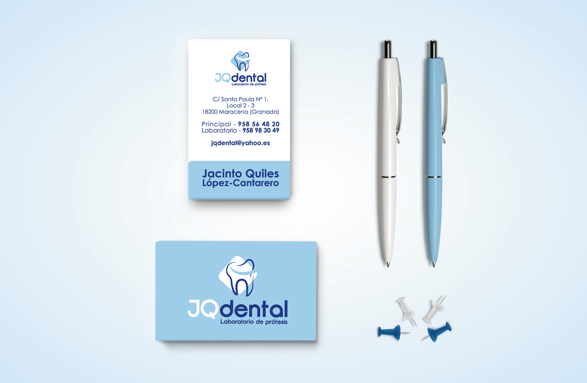 restyling de marca 3 jq dental
