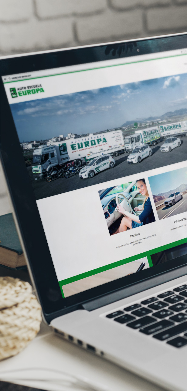 Web Autoescuela Europa