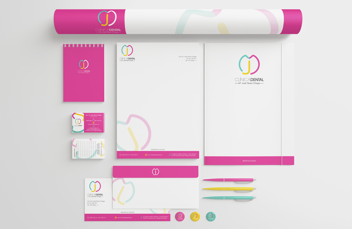 identidad corporativa 6 clinica dental